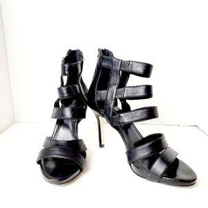 White House Black Market Strappy Heel Sandal Sz 8